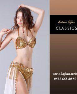 Dansöz Elbisesi altın renk