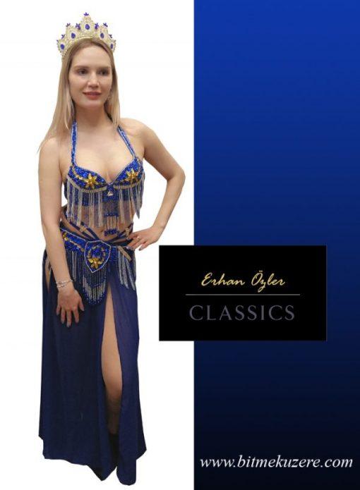 Dansöz Elbisesi Sax mavi