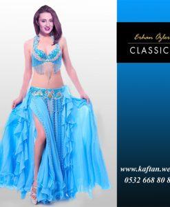 Dansöz Elbisesi Turkuaz mavi