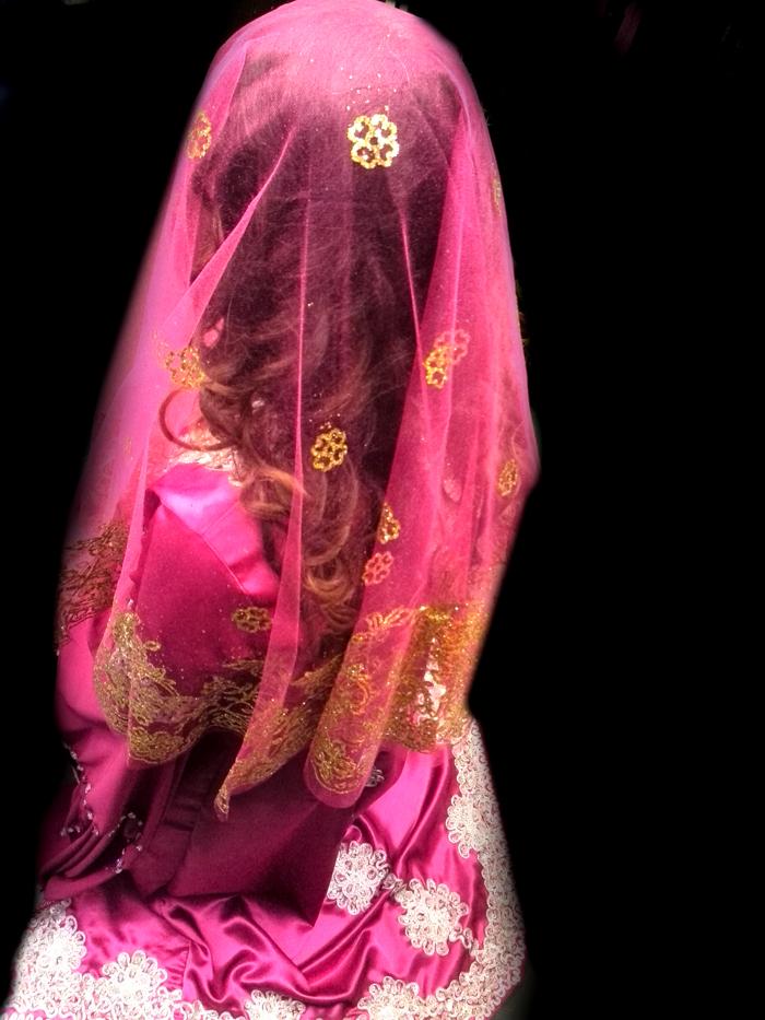 Pembe renk kına Örtüsü - 378 - Erhan Kaftan & Bindallı
