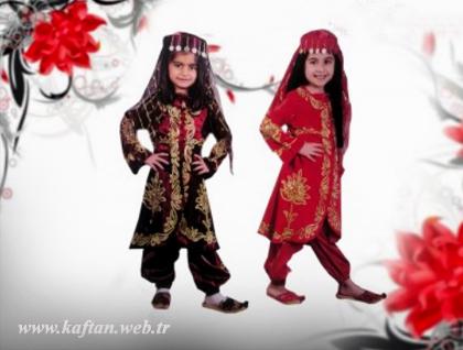 Kız çocuk kaftanları