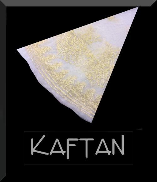 krem renk kına örtüsü - 090 - Erhan Kaftan & Bindallı