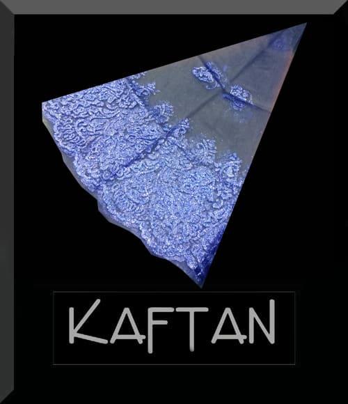Mavi renk kına örtüsü - 007 - Erhan Kaftan & Bindallı
