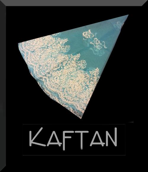 Turkuaz mavisi kına örtüsü - 977 - Erhan Kaftan & Bindallı