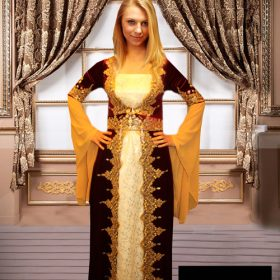 Kına gecesi elbisesi kaftan