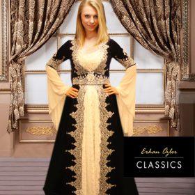 Bindallı kına elbisesi lacivert