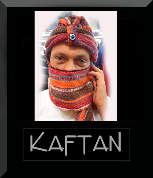 Kilim desenli bedevi şapkası -1 - Erhan Kaftan & Bindallı