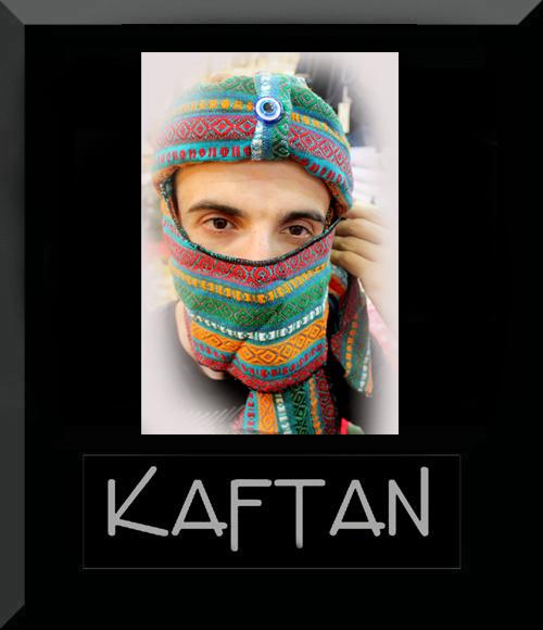 Kilim deseni bedevi şapkası -4 - Erhan Kaftan & Bindallı