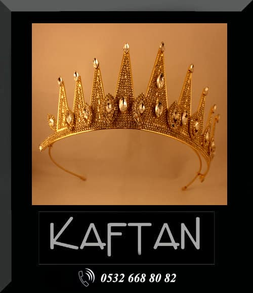Bindallı kostüm tacı - 9277 - Erhan Kaftan & Bindallı