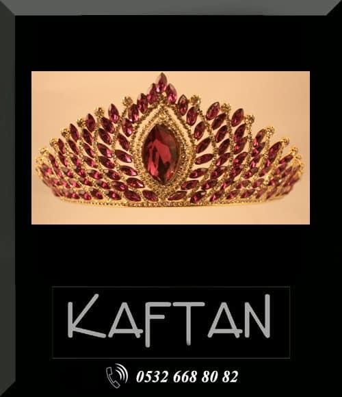 Taç, kaftan kıyafeti tacı - 6299 - Erhan Kaftan & Bindallı