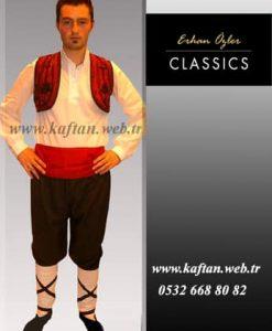 Üsküp Yöresi folklor Erkek kıyafeti