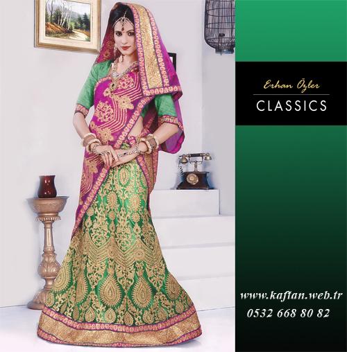 Hint kıyafetleri-9322 - Erhan Kaftan & Bindallı