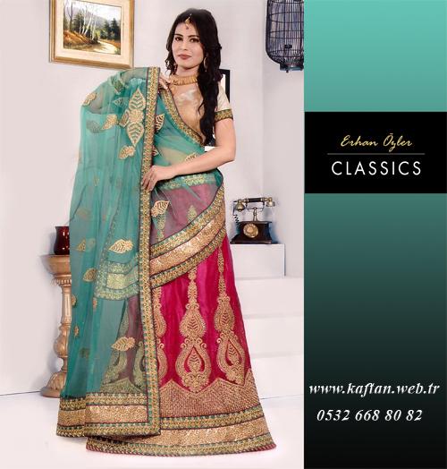Hint Elbiseleri-3566 - Erhan Kaftan & Bindallı