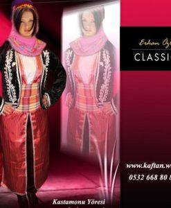 Kastamonu yöresi Bayan folklor kostümü