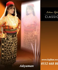 Adıyaman yöresi folklor bayan kıyafeti