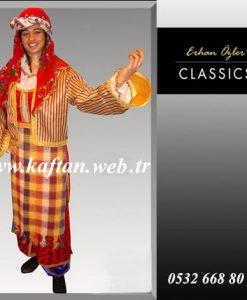 Afyon yöresi bayan folklor kostümü