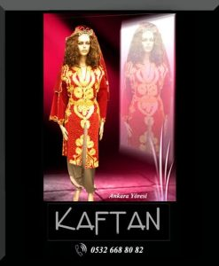 Ankara yöresi bayan folklor kıyafeti
