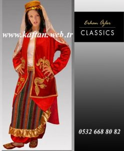 Ardahan yöresi bayan folklor kıyafeti