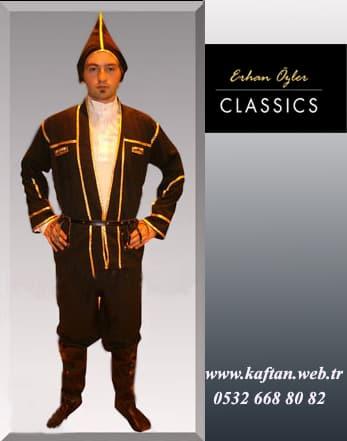 Artvin Yöresi Erkek folklor kıyafeti