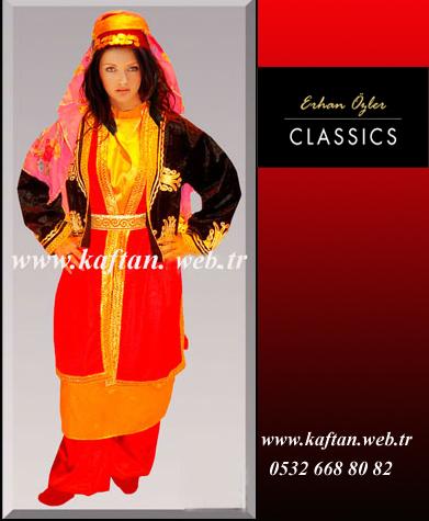 Artvin yöresi kız folklor kıyafeti