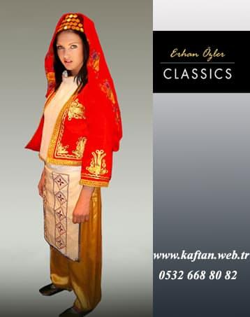 Aydın yöresi bayan folklor kıyafeti