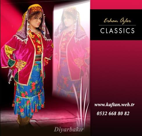 Diyarbakır yöresi folklor bayan kıyafeti