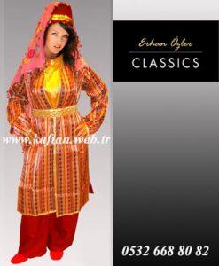 Elazığ yöresi Bayan Folklor kıyafeti