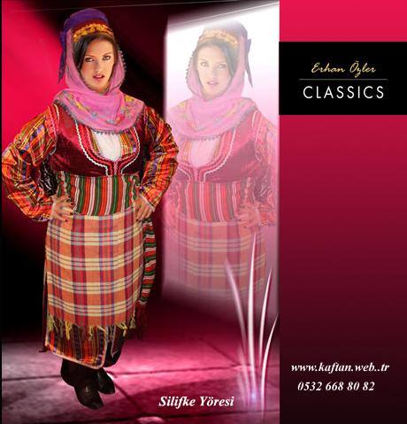 Silifke yöresi bayan folklor kostümü