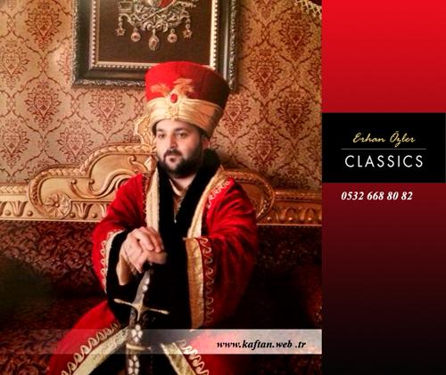 Erkek için Osmanlı Kaftanı