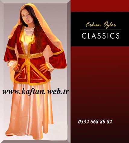 Kafkas yöresi Bayan folklor kostümü