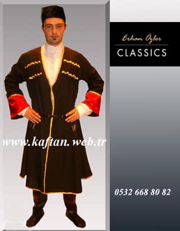 Kafkas Yöresi erkek folklor kostümü