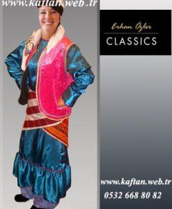 Karadeniz bayan folklor kostümü