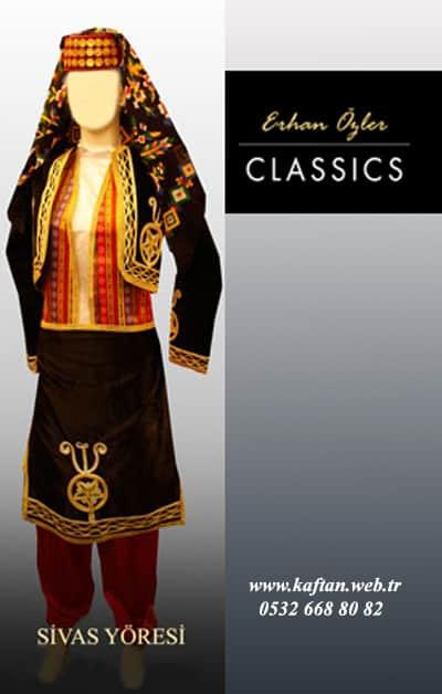 Sivas yöresi Bayan folklor kıyafeti