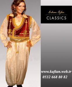 Üsküp Yöresi folklor Bayan kıyafeti
