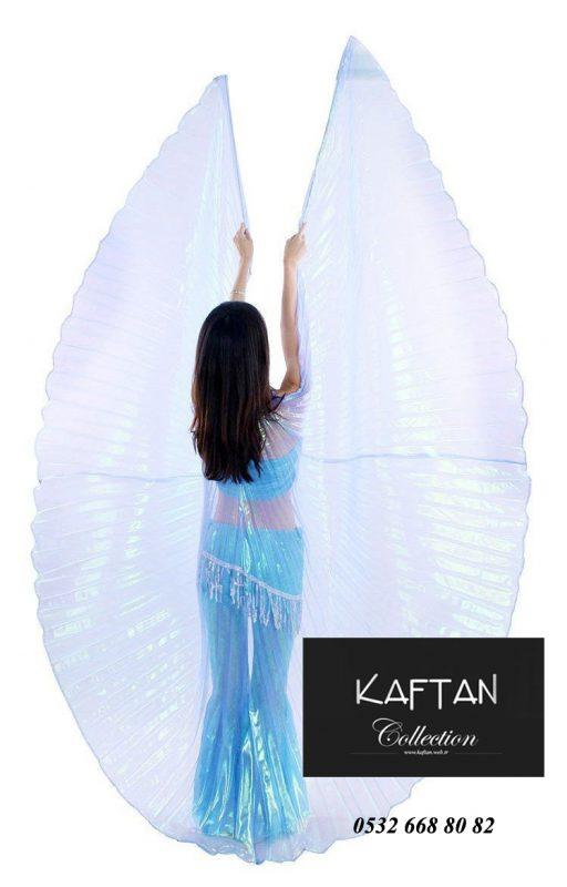 Dansöz pelerini transparan