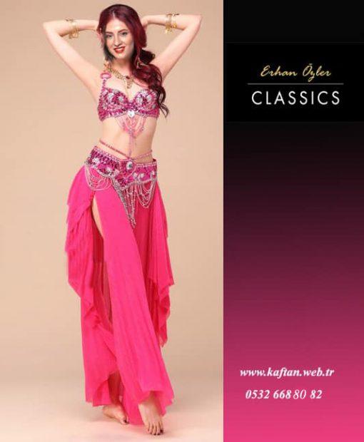 Dans kıyafeti fusya ipli
