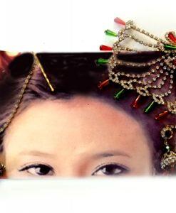 Hintli saç aksesuarı