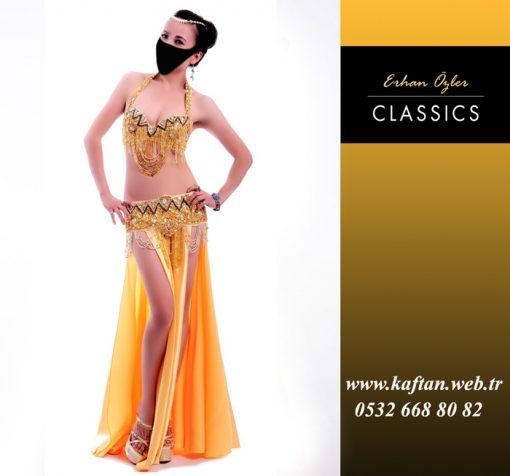 Oryantal Elbisesi Gold