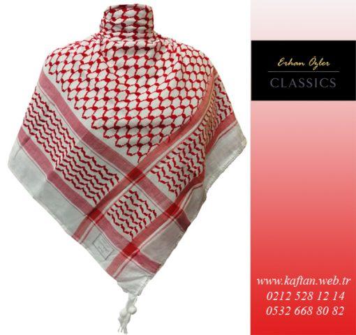 Kaftan Collection Filistin puşisi Kırmızı